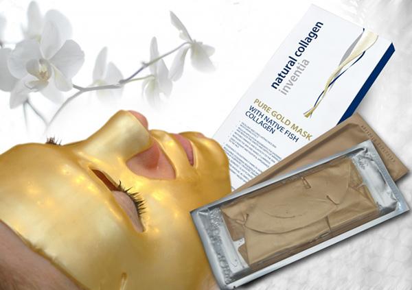 Colway kolagenová maska s nano zlatem