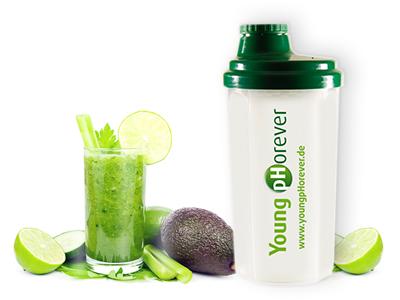 Šejkr na zelené nápoje