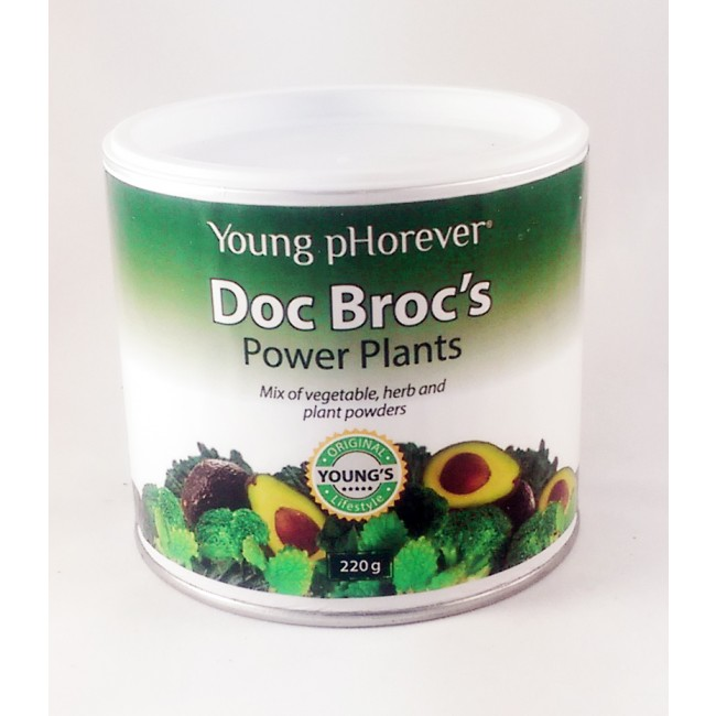 Potravinový doplněk Young pHorever - Doc Brocs Power Plants 1+1