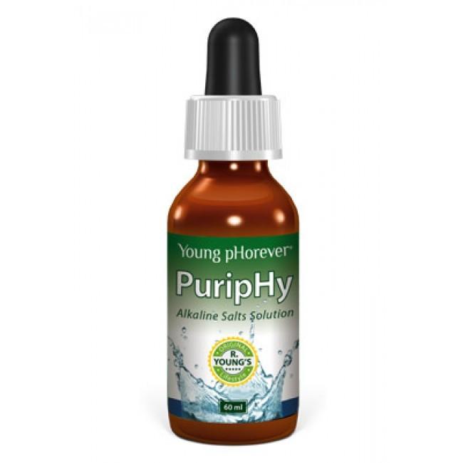 Potravinový doplněk Young pHorever - PuripHy - alkalické kapky