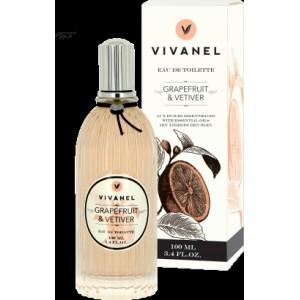 Toaletní voda VIVANEL Grapefruit a Vetiver - 100ml
