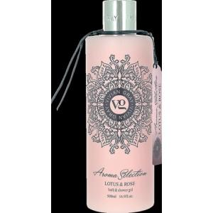 Sprchový gel Vivian Gray Růže a lotosový květ 500ml