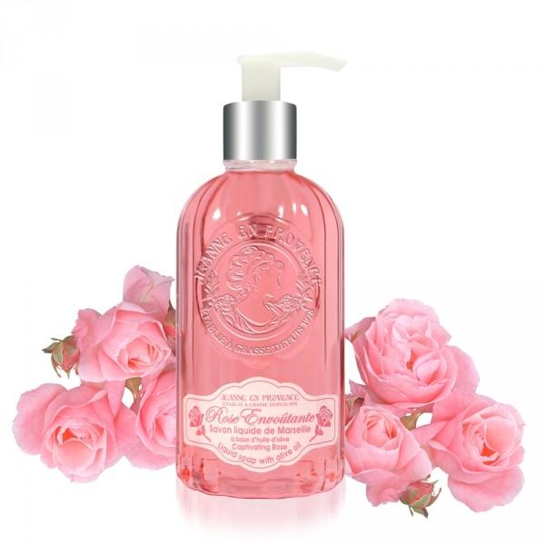 Jeanne en Provence tekuté mýdlo Rose Envoûtante 300ml