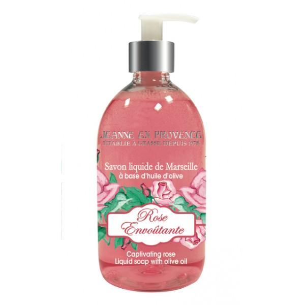 Jeanne en Provence tekuté mýdlo Rose Envoûtante 500ml
