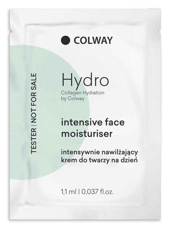 Colway tester Hydro intensive face moisturizer - denní krém 3ks