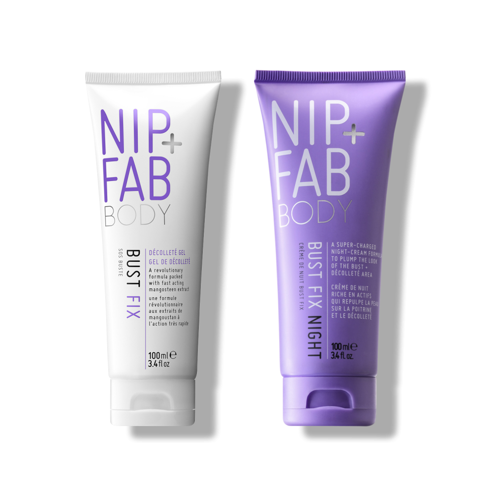 Nip and FAB Bust fix day and night duo krémy na zvětšení prsou