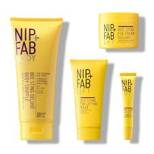 NIP + FAB FIX Bee Sting Kompletní sada proti vráskám