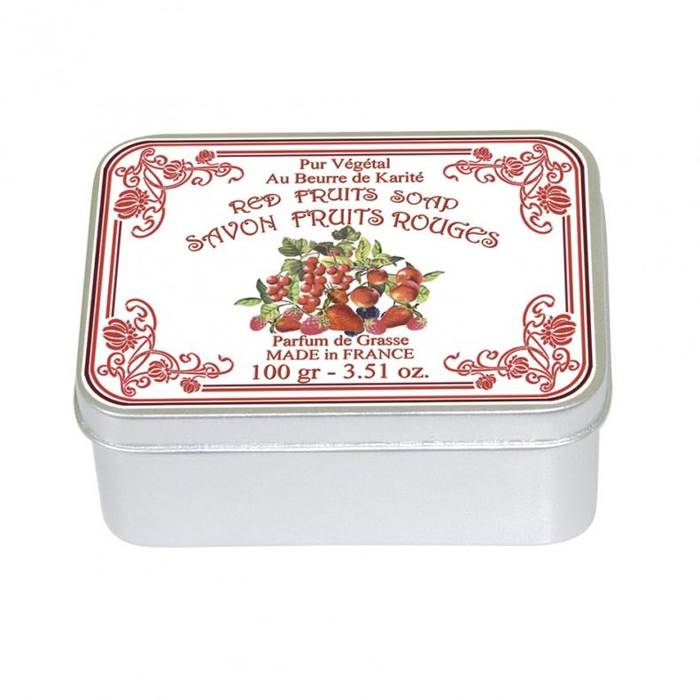 Mýdlo Le Blanc - červené plody 100G