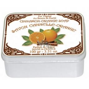 Le Blanc Cinnamon Orange - Skořice a pomeranč přírodní mýdlo tuhé v krabičce 100 g