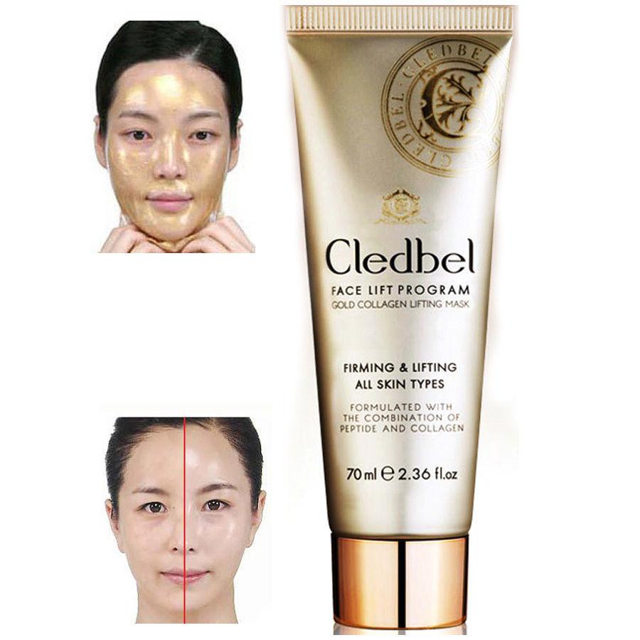 Cledbel zlatá kolagenová liftingová maska z Korei