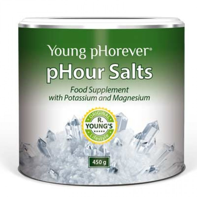 Potravinový doplněk Young pHorever - pHour Salts 1+1