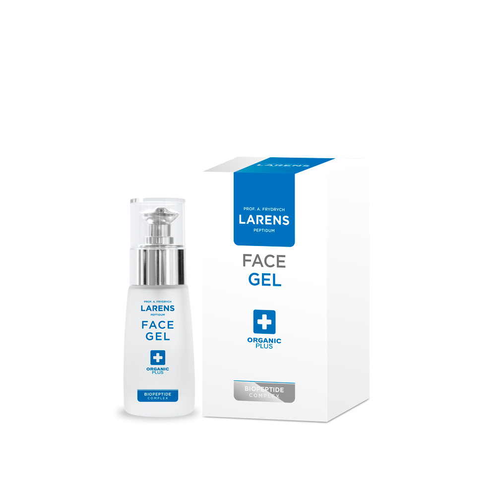 Larens Collagen Face gel 30ml ušpiněný obal
