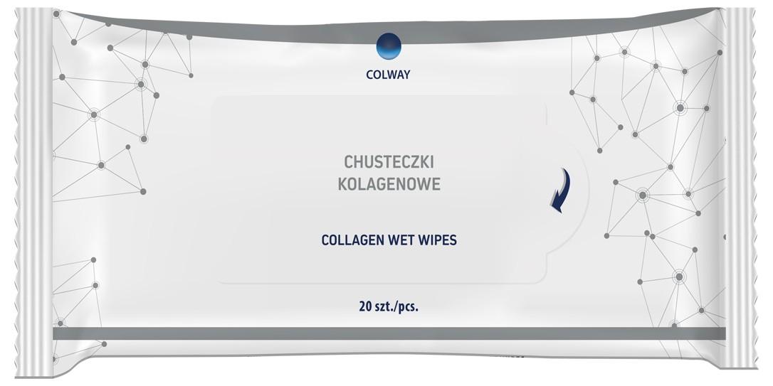 Colway Kolagenové ubrousky