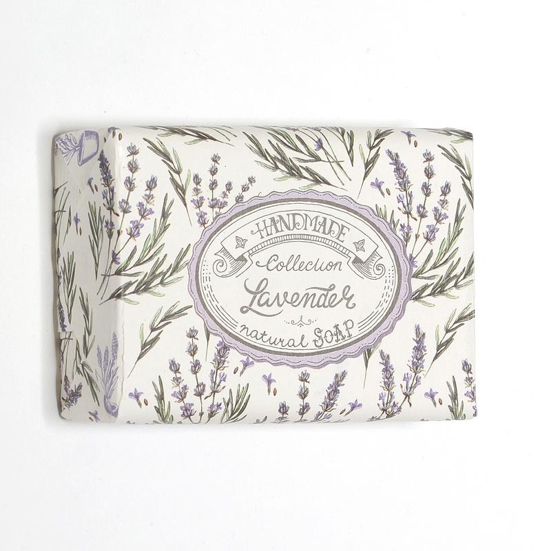 Mýdlo Lavender - dárkově balené 200g