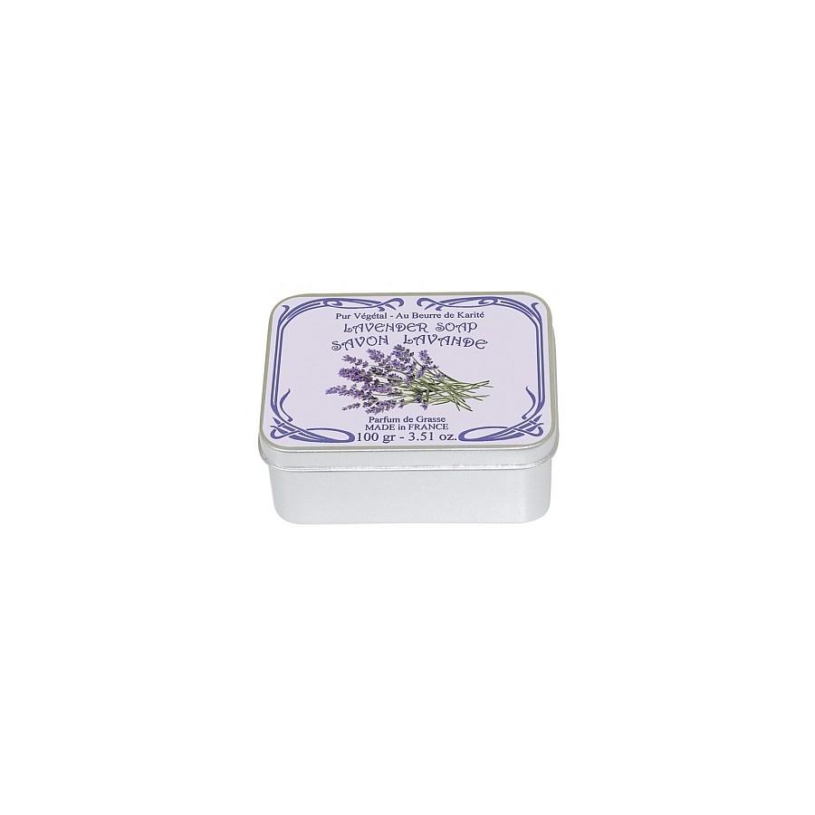 Le Blanc Levandule přírodní mýdlo tuhé v krabičce 100 g