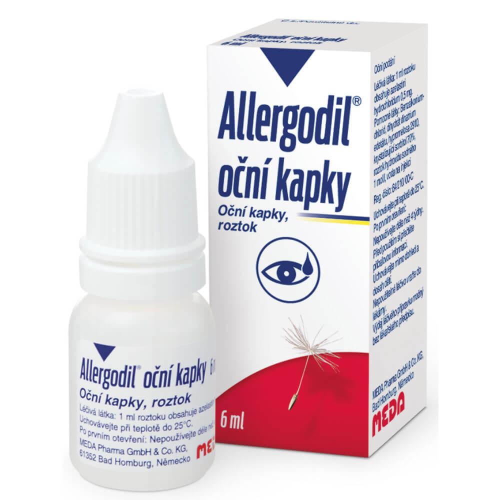 Allergodil oční kapky 6ml