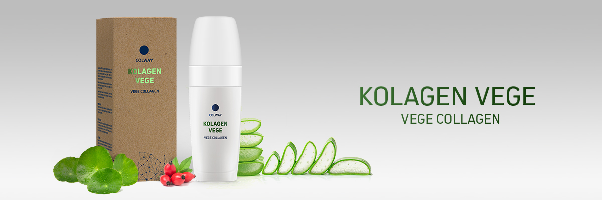 Colway kolagen VEGE - revoluční dermokosmetika nejen pro vegany