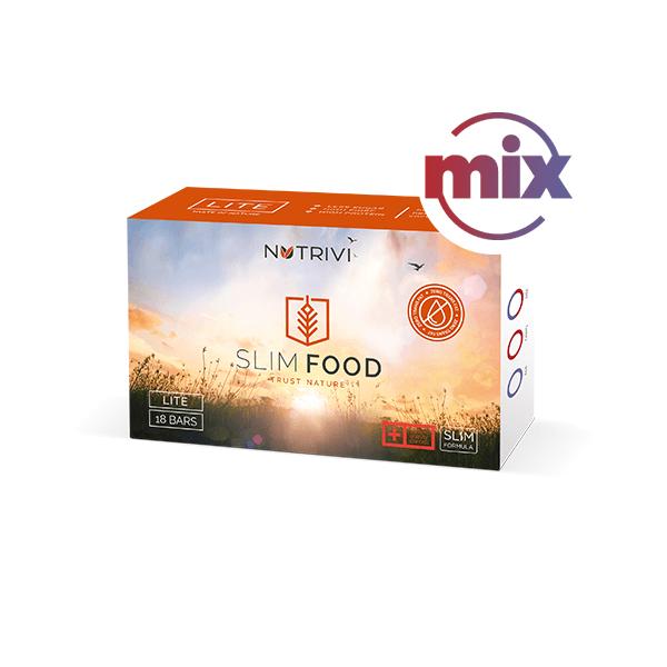 Larens Slim Food Lite Mix 18 tyčinek - na hubnutí