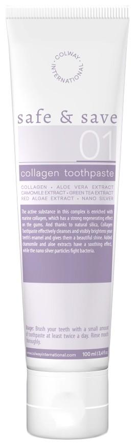 Colway - Zubní pasta s kolagenem