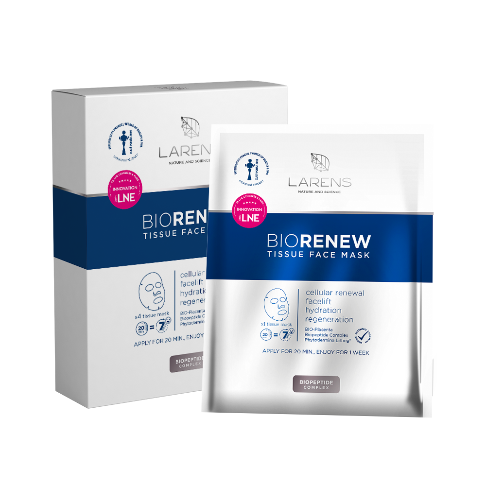 Larens BIO Renew Tissue Face Mask liftingová maska 4ks new