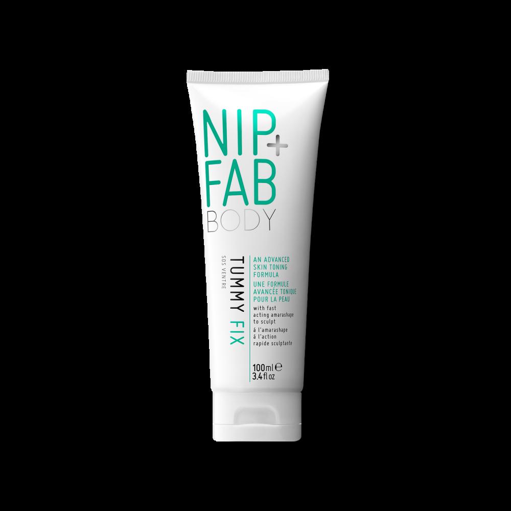 NIP AND FAB TUMMY FIX zeštíhluje problémové partie břicha, stehen a NIP AND FAB Upper Arm fix na krásné paže1+1