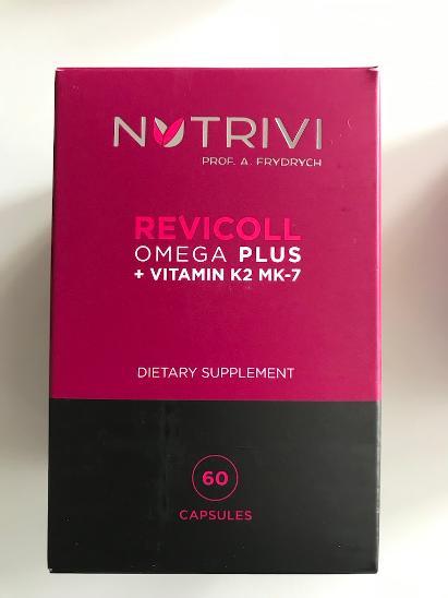 Nutrivi Revicoll Omega Plus + Vitamin K2MK7 60ks
