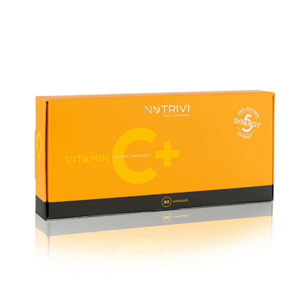 Nutrivi Vitamín C 90 ks 1+1