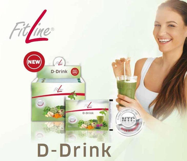 Fitline Basics sáčky - D Drink - Detox balení na 14 dní 1+1