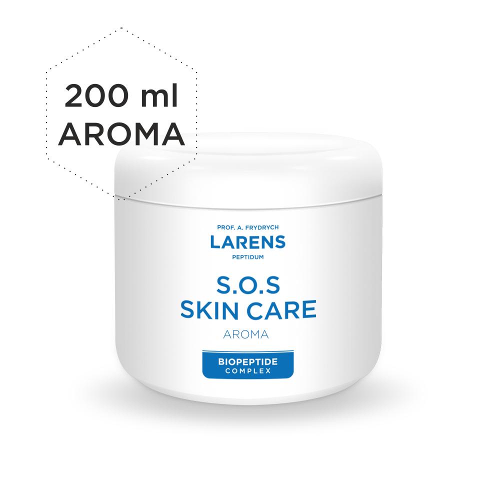 LARENS SOS Skin Care Aroma 200ml masážní krém