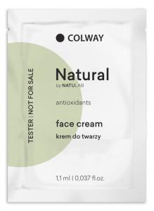 Colway tester Natural face cream - krém na tvář 3ks